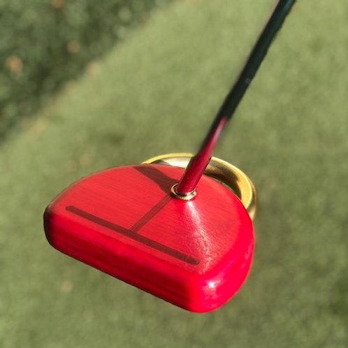 Honu 1 Putter - Customized-Honu Bamboo/Red