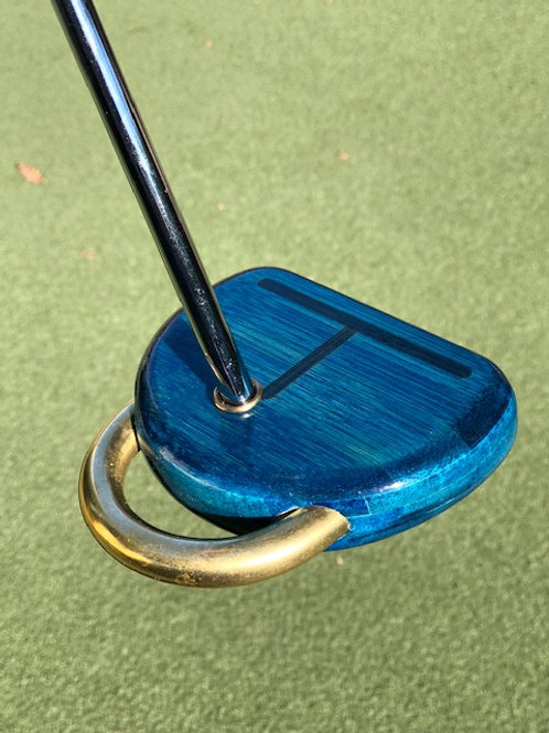 Honu 1 Putter/Kotahi Grip - Customized-Honu Bamboo/Blue
