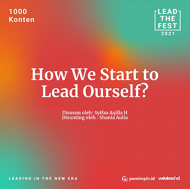 How We Start to Lead Ourself?