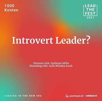 Introvert Leader?