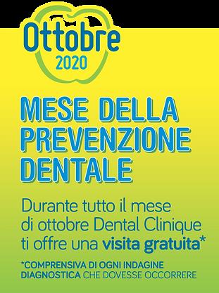 mese della prevenzione dentale visita gratuita