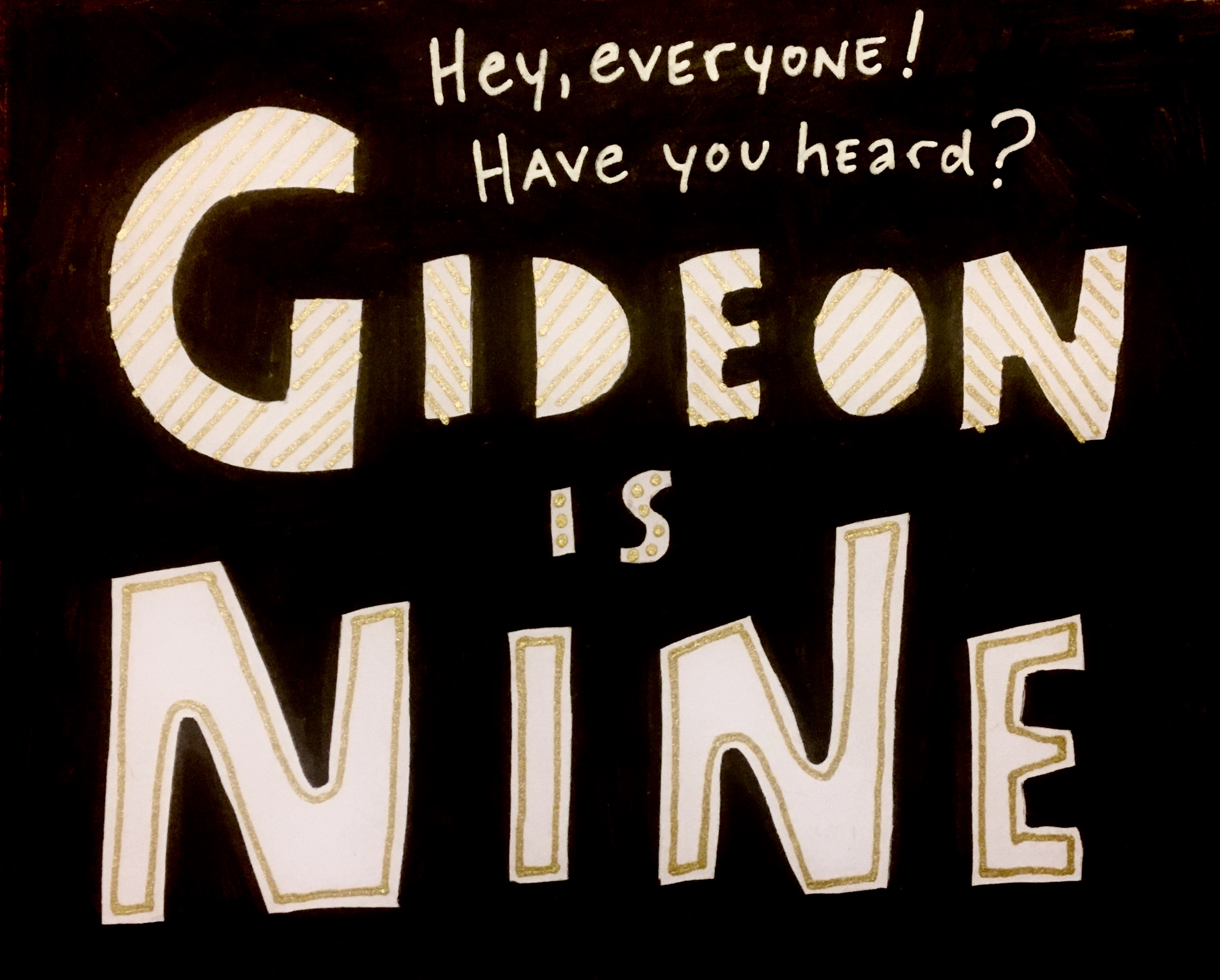 Gideon is Nine!
