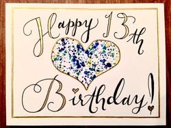 Happy 13th!