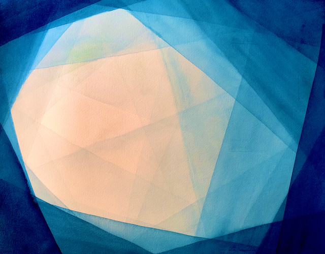 Blue (watercolor)