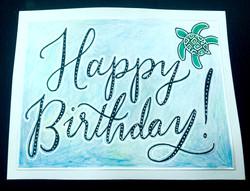 Happy Sea Birthday
