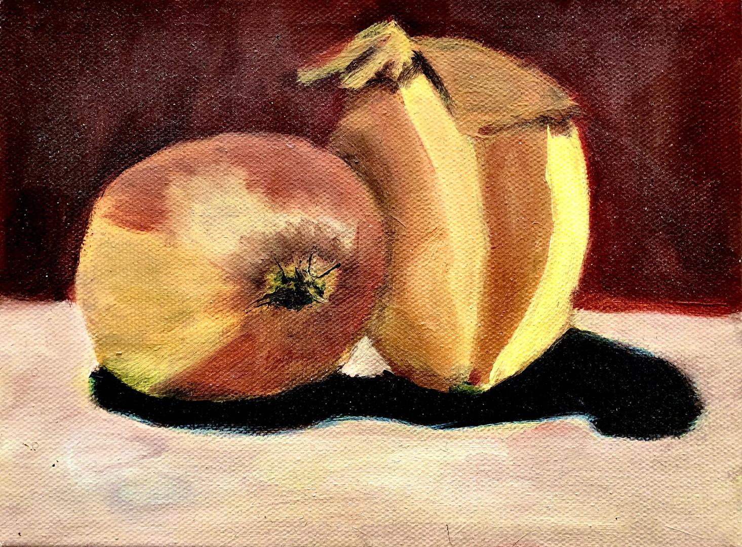 Onions (oil paint)