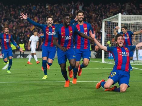 Španělský superpohár 2017 - FC Barcelona vs Real Madrid