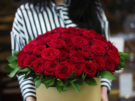 Růže na Valentýna