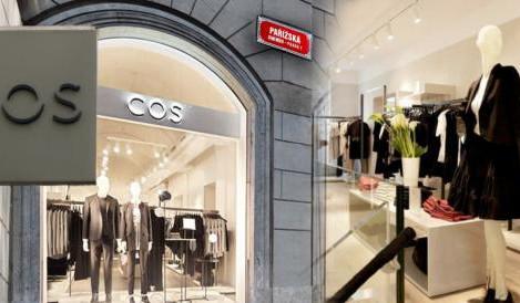 Módní značka COS v Praze