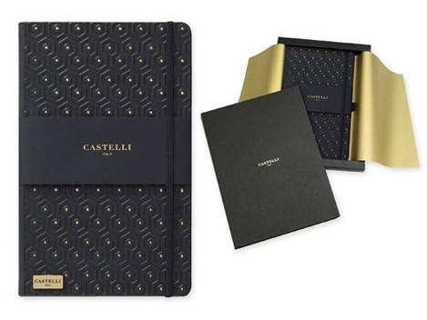 Castelli Gold A5 zápisníky