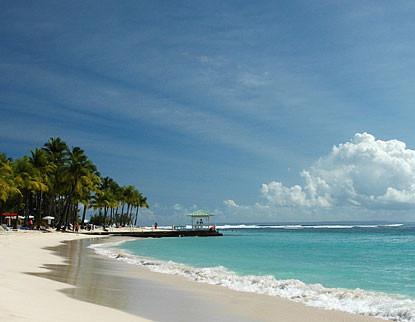 GUADELOUPE - ostrov bílých pláží
