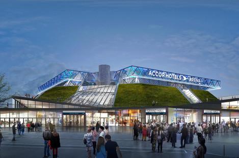 Co nabízí pařížská AccorHotels Arena?