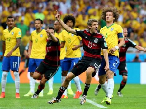 PŘÍPRAVNÉ UTKÁNÍ NĚMECKO - BRAZÍLIE