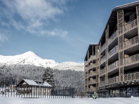 Valsana, Arosa, Švýcarsko: Krása v jednoduchosti
