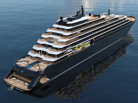 Jachta Ritz-Carlton vypluje na moře v roce 2020