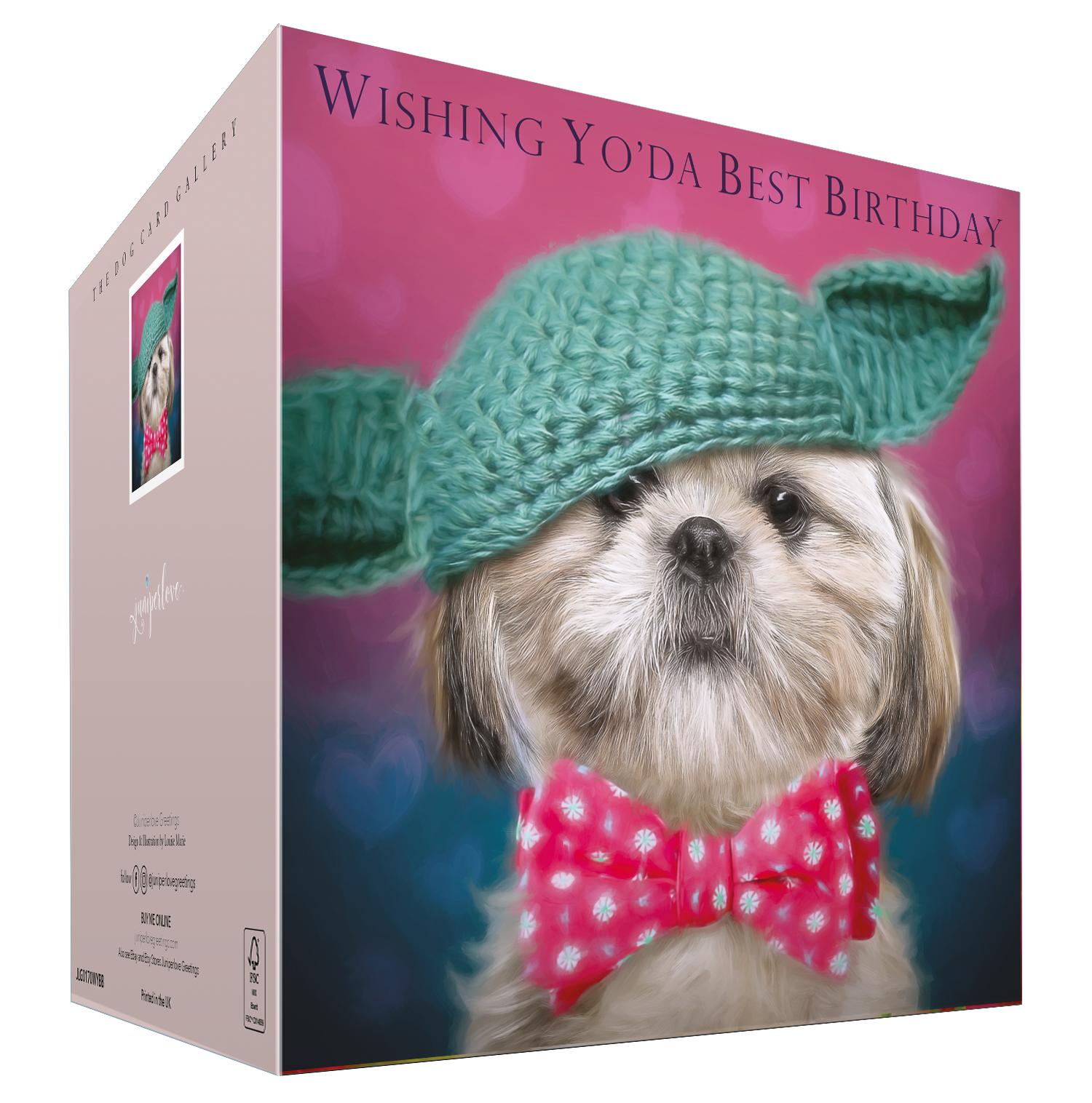 Shih-tzu birthday card