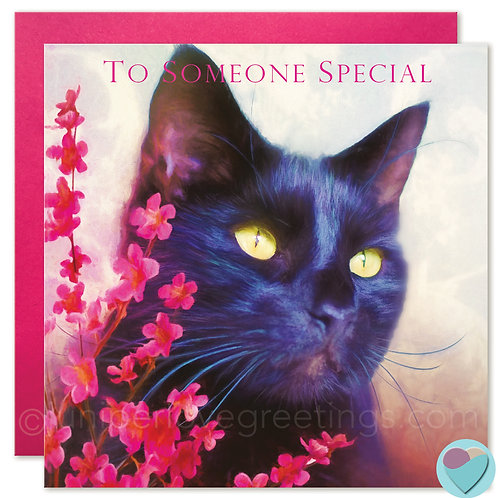 Black Cat Card UK 'TO SOMEONE SPECIAL'