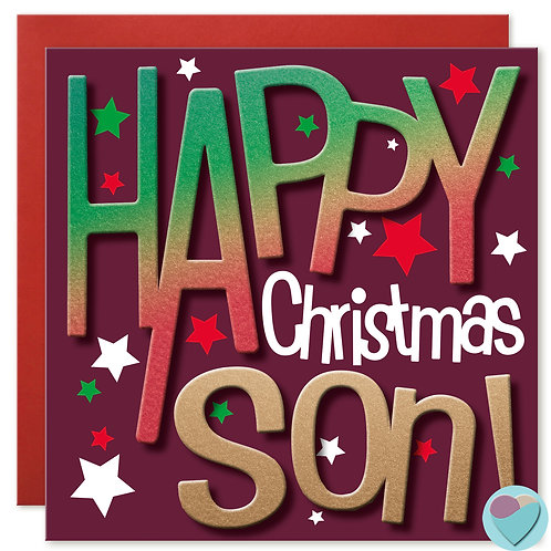 Son Christmas Card by Juniperlove