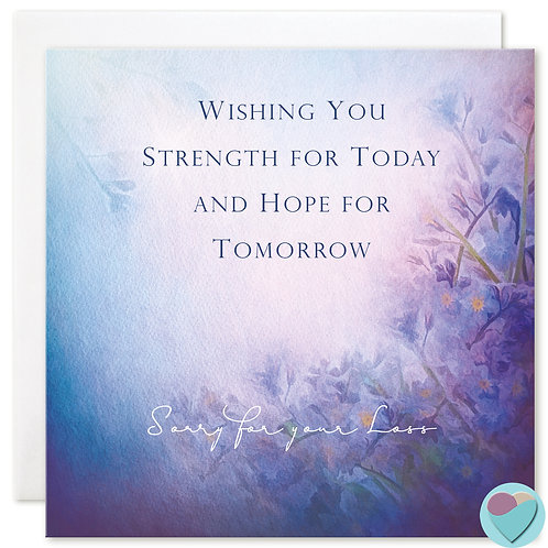 Sympathy Card 'Sorry For Your Loss'