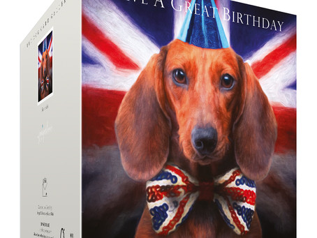 New! The start of The Dachshund Dog Collection of greeting cards by Juniperlove Greetings.