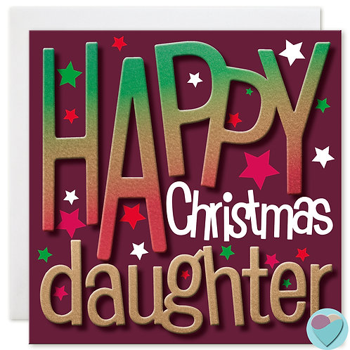 Daughter Christmas Card by Juniperlove