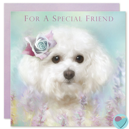 Friend Greeting Card FOR A SPECIAL FRIEND