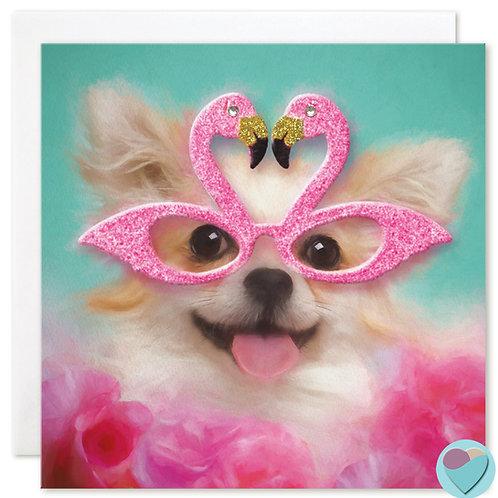 Chihuahua Card by Juniperlove Greetings