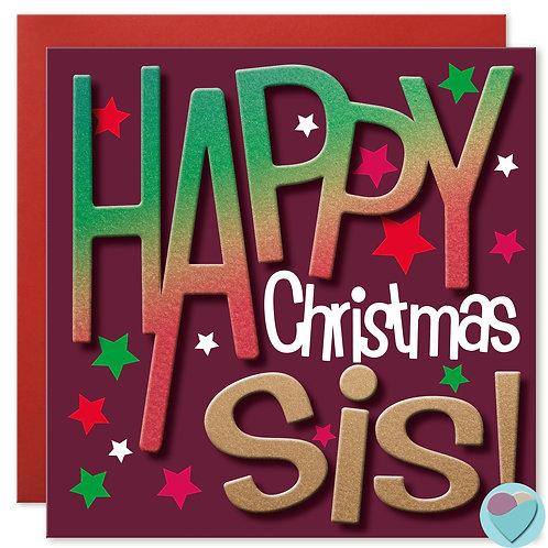 Sister Christmas Card by Juniperlove