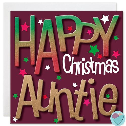 HAPPY CHRISTMAS AUNTIE