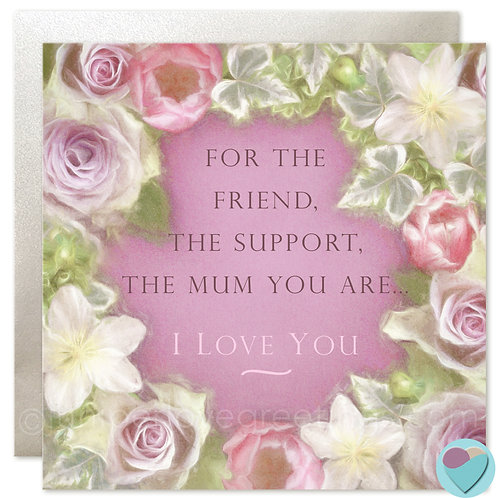 Mum Birthday, Mother's Day or Thank You Card 'THE MUM YOU ARE'
