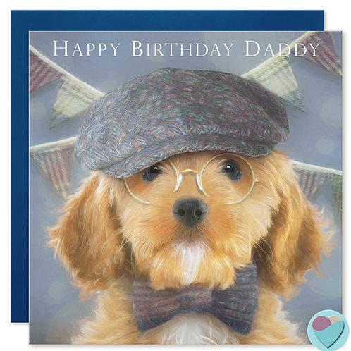 Daddy Birthday Card 'HAPPY BIRTHDAY DADDY'