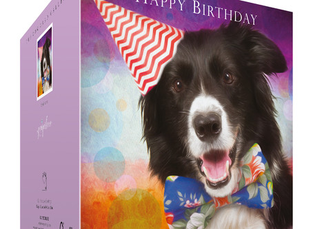 Border Collie Birthday Cards just got better!