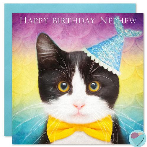 Nephew Birthday Card - 'HAPPY BIRTHDAY NEPHEW'