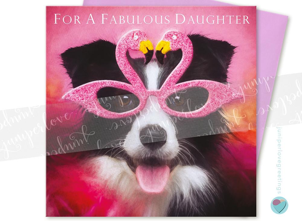 Daughter Greeting Card, juniperlove greetings