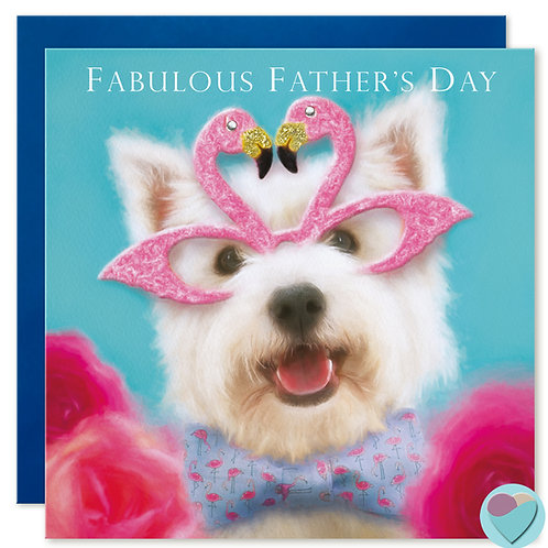 Father's Day Card 'FABULOUS FATHER'S Day'