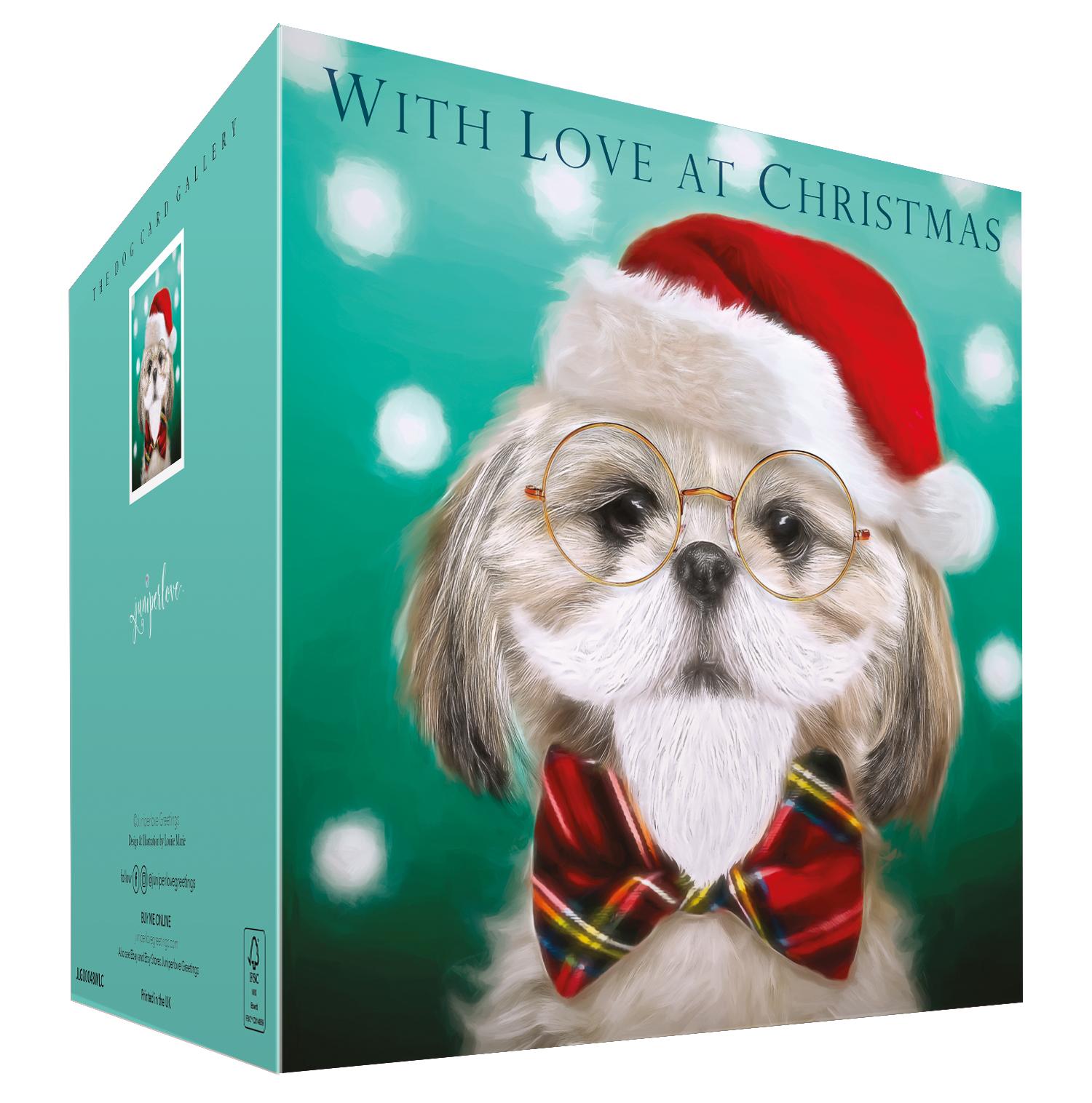Shih-Tzu Christmas Card