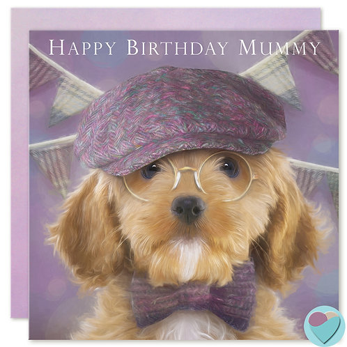 Mummy Birthday Card 'HAPPY BIRTHDAY MUMMY'