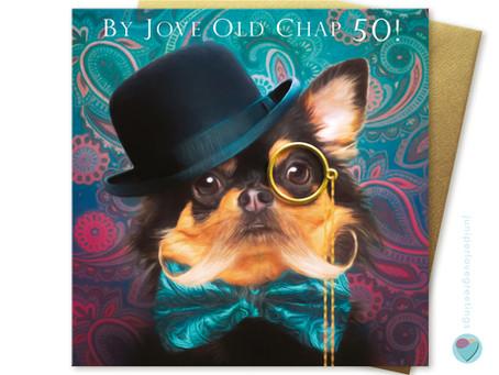 New Chihuahua birthday card coming soon to juniperlove!