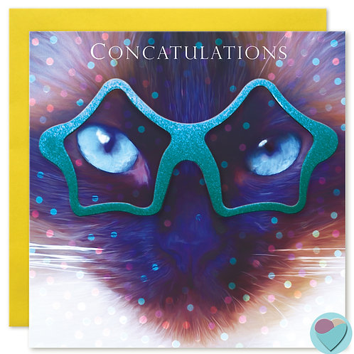 Congratulations Card 'CONCATULATIONS'