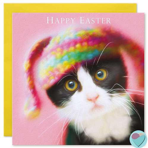 Easter Card - 'HAPPY EASTER'