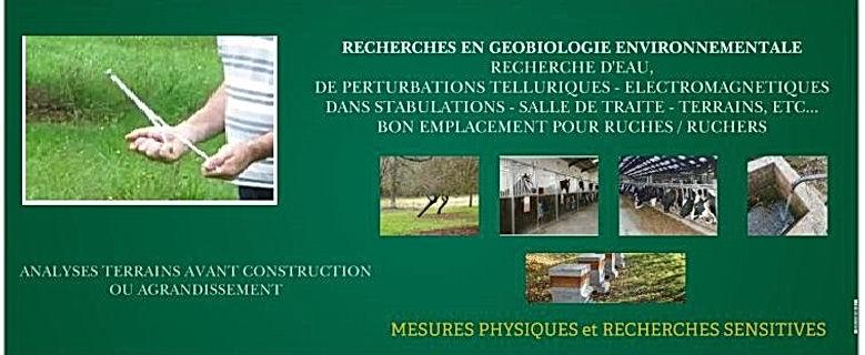 Géobiologie environnementale milieu agricole.