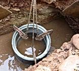 pose de buses pour puits