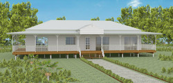 Queenslander, pole home, raised home