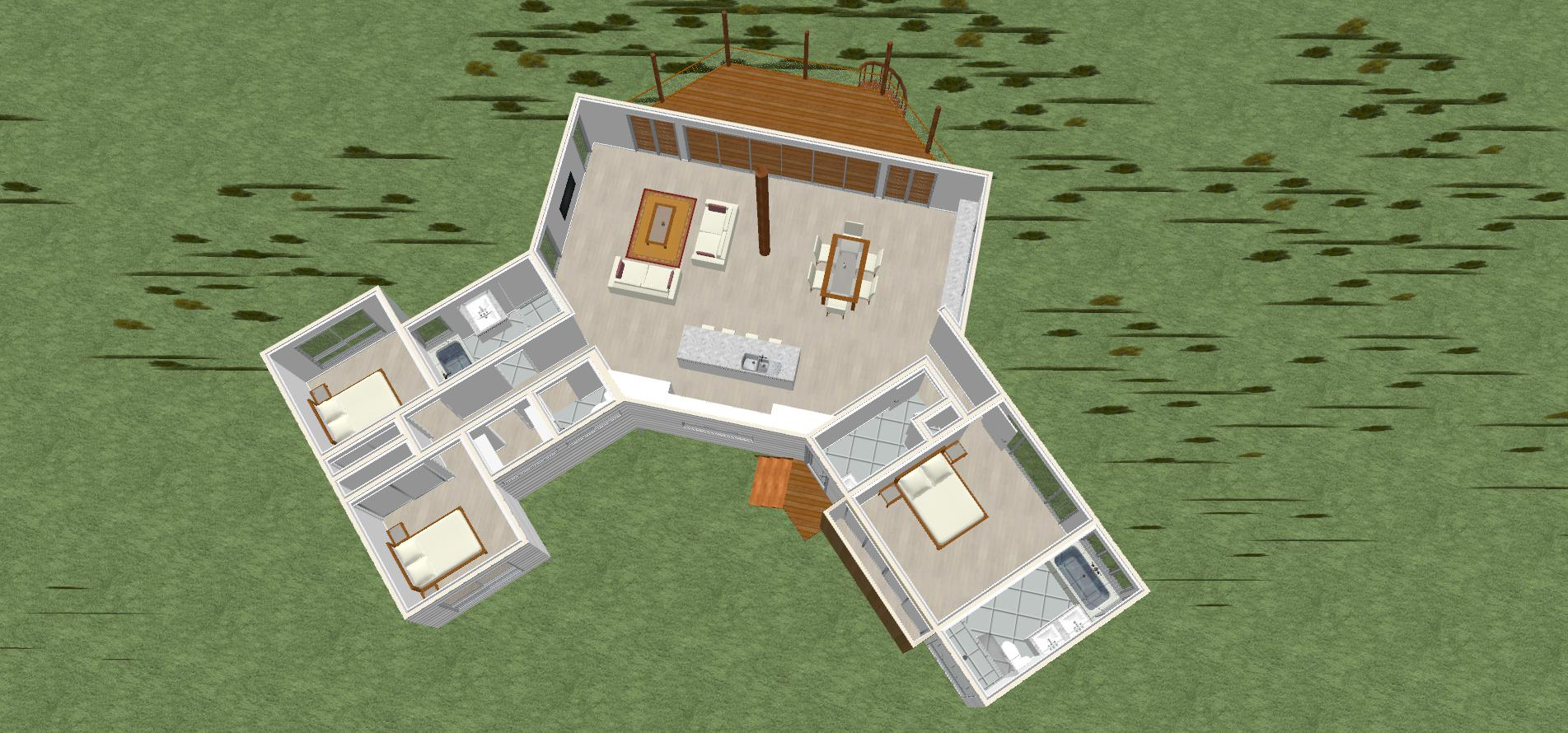 Bali 3D floorplan 2