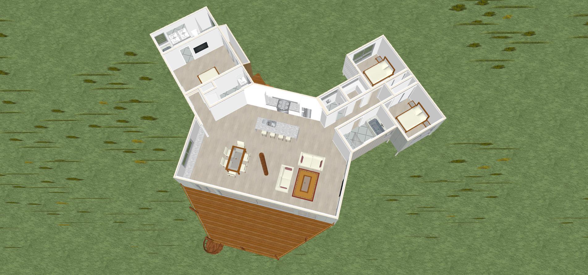 Bali 3D floorplan