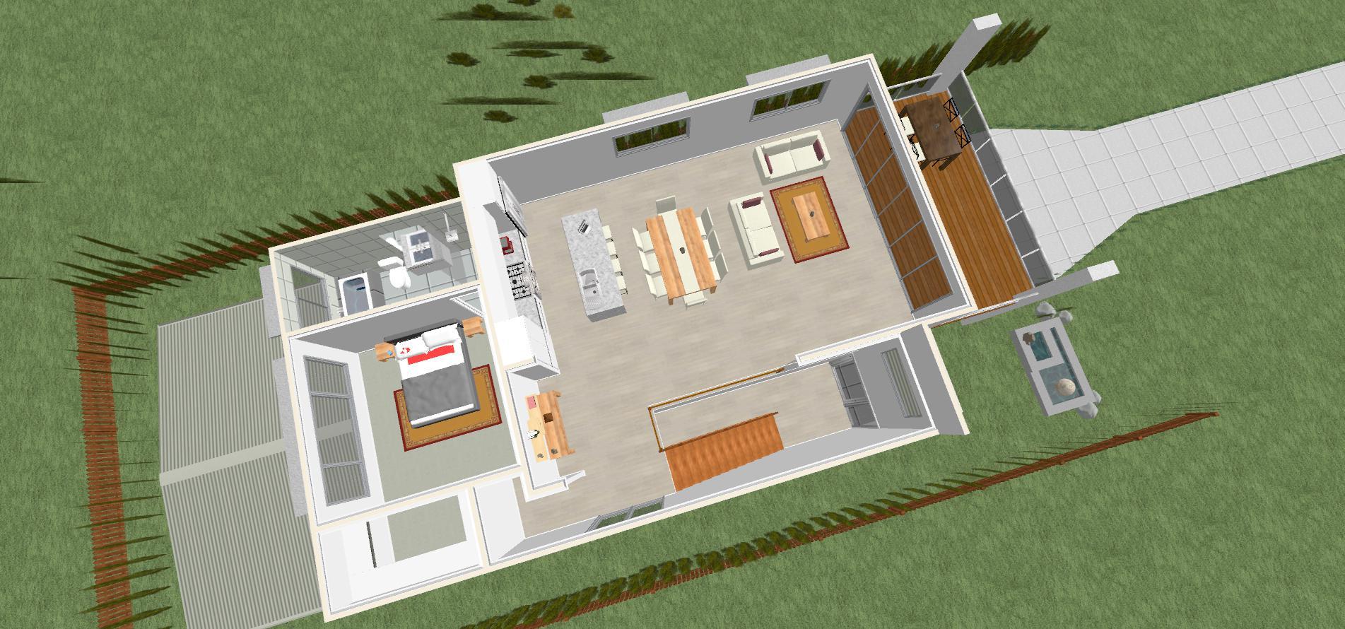 Coolum 3D upper level 2