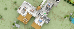 Caracas v1.2 3D floorplan