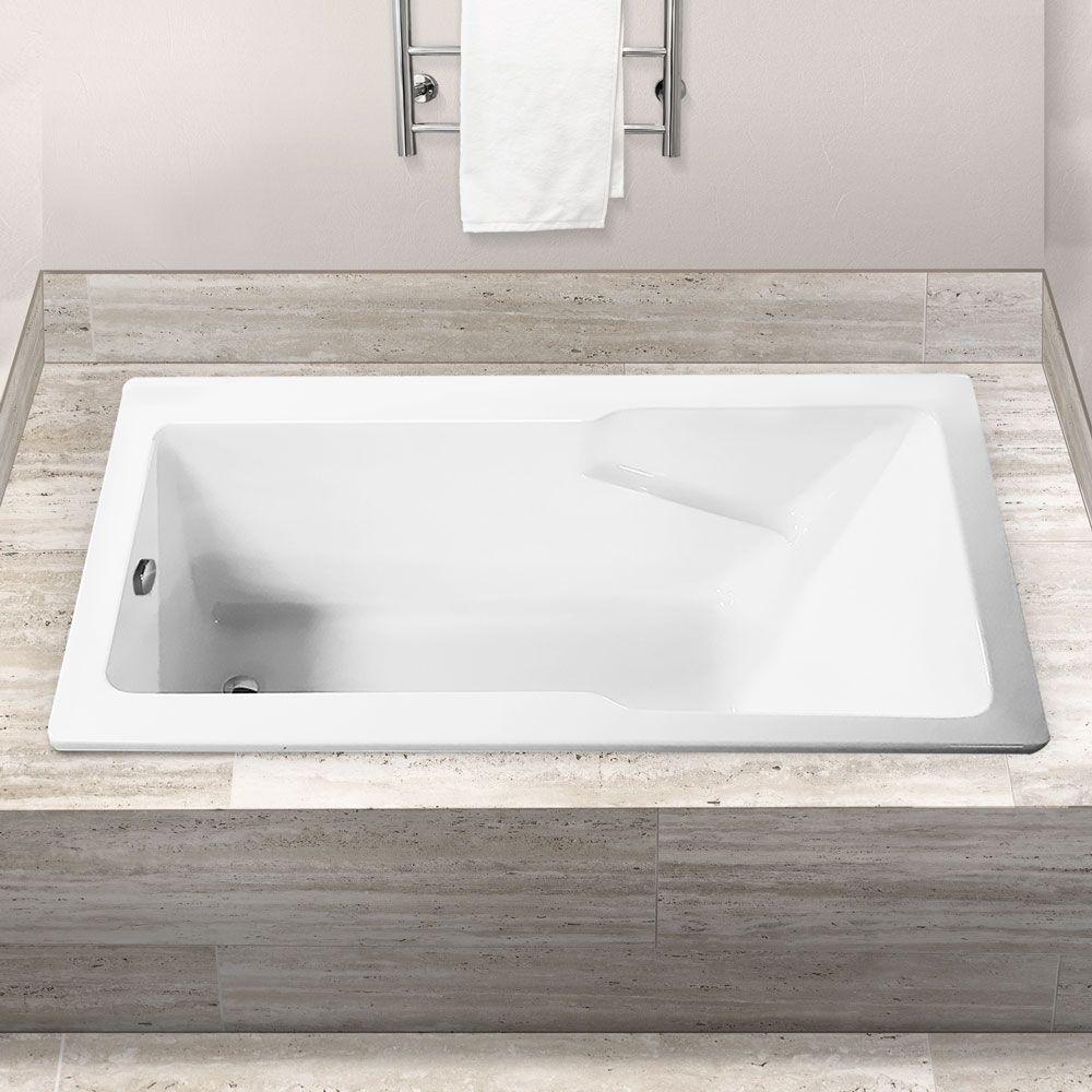 Drop-in bath example