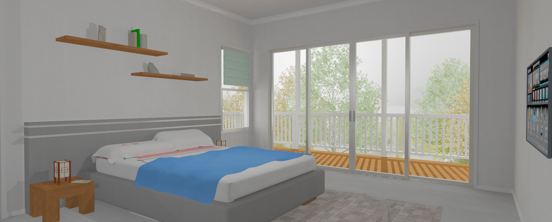Buderim v1.2 bedroom