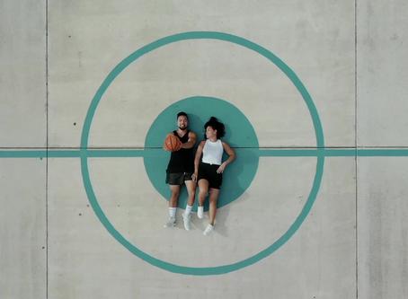 Love & Basketball | Matt + Becca | St. Augustine, FL | Couples Session
